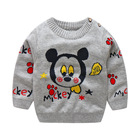 BibiCola infant boys sweaters 2018 cartoon baby girl sweater jumper autumn winter knitted pullover warm outerwear bebe sweater
