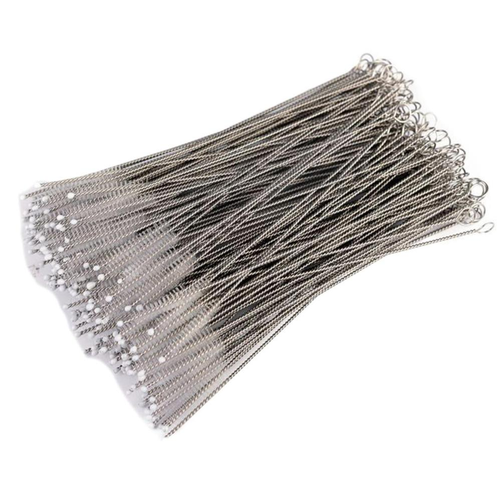 10pcs/lot Straw Clean Cleaning Brush For Baby Feeding