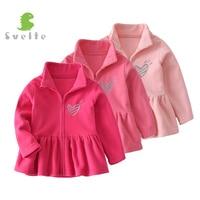 SVELTE For 2 7 Y Kids Girls Fleece Dresses Children Mori Long Sleeve Princess Dress Spring