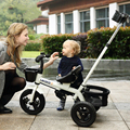 Los Niños en Bicicleta de Tres Ruedas Cochecito de Bebé 1-3-5-Año-Viejo Bebé Carro Cochecito de Bebé Cochecitos triciclo