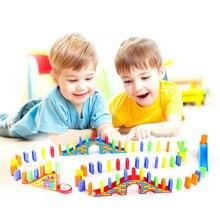 Домино блоки домино настольная игра пластиковые горячие игрушки для детей Девочки Мальчики Дети Детские игрушки Рождество год развивающие подарки