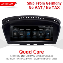8 8 Android Screen Vehicle multimedia player For BMW Series 5 E60 E61 E62 Bluetooth gps