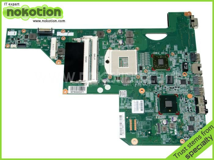 615381-001 615382-001 LAPTOP MOTHERBOARD for HP COMPAQ G62 CQ62 series INTEL HM55 ATI Mobility Radeon HD 5470 DDR3 nokotion 599518 001 laptop motherboard for hp compaq probook 4321s 4420s 4421s ati mobility radeon hd 5430 hm57 ddr3 mainboard