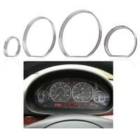 Chrome Styling Dashboard Gauge Dial Rings Bezel Trim Speedo AC Tech Sport For BMW E46 98