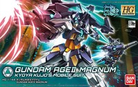 Bandai 1/144 HGBD 012 AGE2 Magnum HIGH MOBILITY TYPE hobby model Gundam Build Divers toys kids education toy assembled Robot