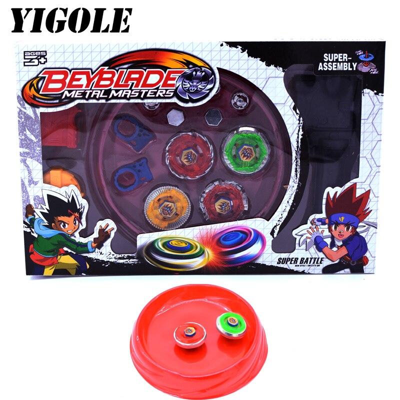 Peões 4 brinquedos conjunto venda beyblades Features 2 : Beyblade Arena, Beyblade Toys For Sale, Toupie Beyblade Burst,