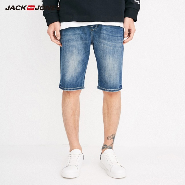 JackJones Men's Fading Denim Shorts J|218243520