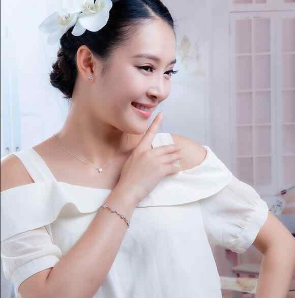 Omhxzj卸売ファッションプレゼント高品質aaaジルコンアメジスト925スターリングシルバーパープルギフト女性ブレスレット腕輪SZ26