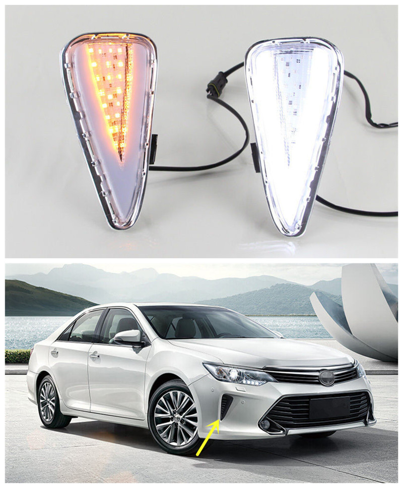 led drl daytime running light fog lamp with turn signal. Black Bedroom Furniture Sets. Home Design Ideas