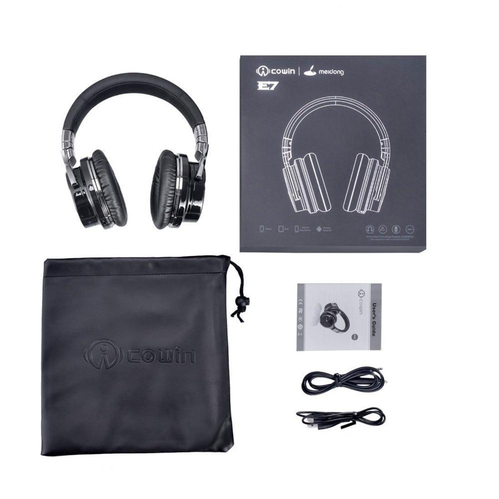 Cowin E-7 Auriculares inalámbricos con cancelación activa de ruido - Audio y video portátil - foto 5
