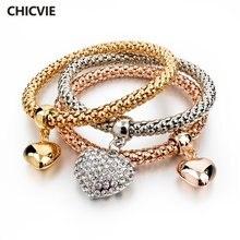 Chicvie дружеские бриллиантовые браслеты и подвески для женщин