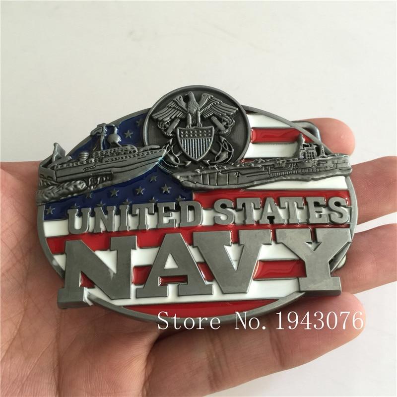 Retail United States Navy Belt Buckle 9 7cm