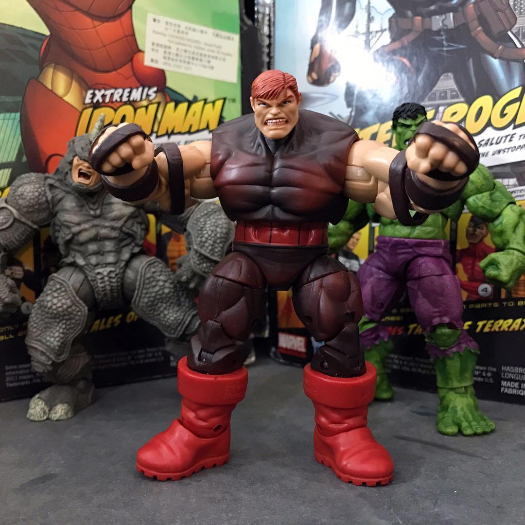 Marvel Legends Garage Kit Secondhand 3.75'' The X-Men - Juggernaut Unmasked Action Figure Collectible Model Loose Toy No Box