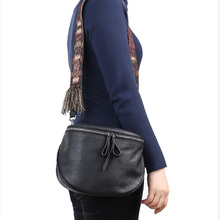 купить Bohemia Genuine Leather Handbag Women High Quality Shoulder Bags Designer Ladies Crossbody Bag bolsa feminina 2019 по цене 5203.98 рублей
