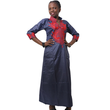 MD african dresses for women bazin dashiki womens long traditional south africa clothes ladies embroidery dress