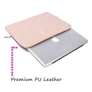 Image 2 - MOSISO スーパーシャイニング Pu ラップトップスリーブバッグブリーフケース Macbook Pro の空気網膜 13 13.3 インチ防水女性のノートブックハンドバッグ