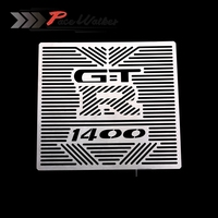 FREE SHIPPING Motorcycle Accessories Radiator Grille Guard Cover Protector For Kawasaki GTR1400 GTR 1400 2012 2014