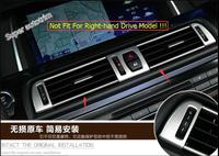 Lapetus For BMW 5 Series 520i 525i 530i F10 F18 2011 2016 Dashboard Side + Middle Air AC Vent Outlet Cover Trim 13 Pcs / Set
