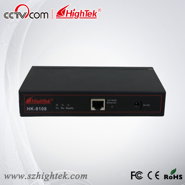 HighTek HK-8108B Industrial 8 ports RS485/422 to Ethernet Converter/Ethernet to Serial Device Server hightek hk 8116b industrial 16 ports rs485 422 to ethernet converter ethernet to serial device server