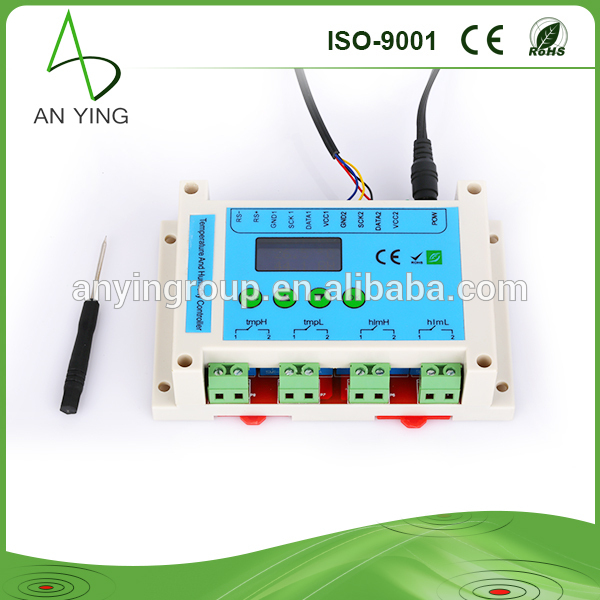 Humidity Control Equipment : New temperature humidity monitoring system