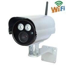 2.0 мегапикселя Full HD 1080 P водонепроницаемый Long Range ИК 50 м Мини-лучший открытый беспроводного видеонаблюдения IP-камера ONVIF WI-FI