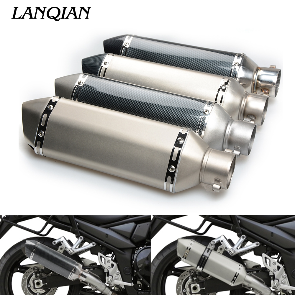 Motorcycle Exhaust pipe Muffler Escape Muffler db killer for Suzuki GSX R 600 GSX R 750 GSF 650 GSF 600 SV 650 SV 1000 S