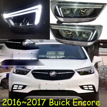 HID,2017~2018,Car Styling for Encore Headlight,insightRegal,lacrosse,Enclave,Encore,GT,XT,Encore head lamp фото