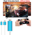 HDTV MHL to HDMI Adapter HDMI Cable for Samsung Galaxy Android phone Convert Micro USB to HDMI 1080P TV Video Anycast Miracast