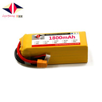 LYNYOUNG 6s battery lipo 22.2V 1800mAh 25C 50C for RC Car Boat Quadcopter drone helicopter