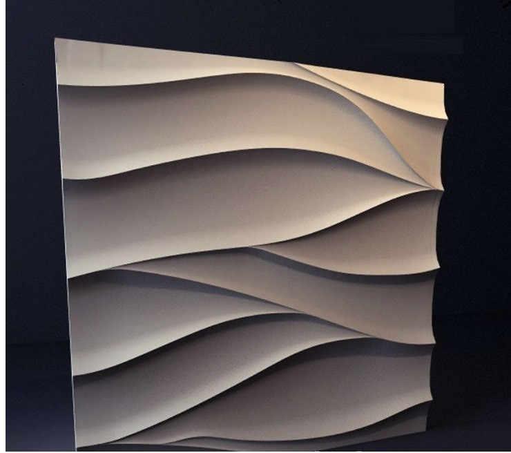 """פלסטיק תבניות פלסטיק צורות, פלסטיק 3D דקורטיבי קיר פנלים """"שבץ"""" עבור גבס, מחיר עבור 1 pcs ייחודי עיצוב"""