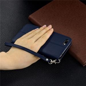 Image 4 - Y5(2019) fall Leder Flip Fall auf für Huawei Y5 2019 Coque Brieftasche Magnetische Abdeckung für Huawei Y5 2019 Y 5 Prime 2018 Y5P Fällen