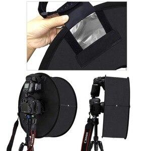 Image 5 - PULUZ 45 cm Ring Softbox Blitzgerät Runde Stil Flash Licht Schießen Weiche box Faltbare Weiche Flash Licht Diffusor