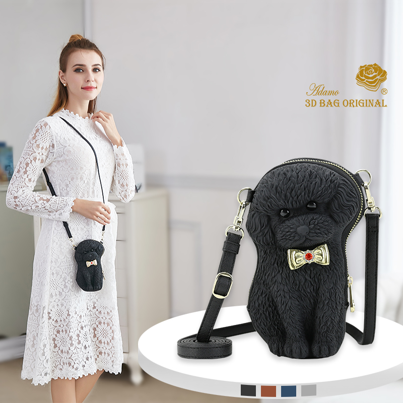 Adamo 3D Bag Original Bow Poodle Sling Bag new trend women handbags simple flap fashion shoulder bag woman messenger bag professional electric rotary permanent makeup tattoo machine microblading eyebrow lips tattoo machine pen body art tool