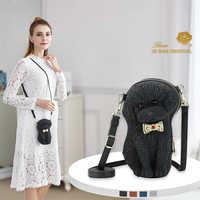 Adamo 3D Tasche Original Bogen Pudel Sling Tasche neue trend frauen handtaschen einfache klappe mode schulter tasche frau umhängetasche
