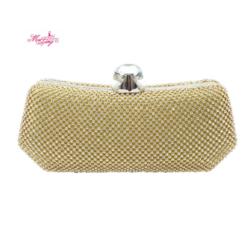 8715c61fdc New Diamond Dinner Package Crystal Bling Handbag Gems Purse Wedding Bag For Women  Socialite Party Prom