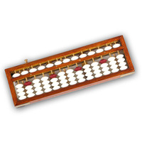 China Wooden math Abacus 13 Columns Math Leaning Brain Developing Educational Toy Soroban yo012