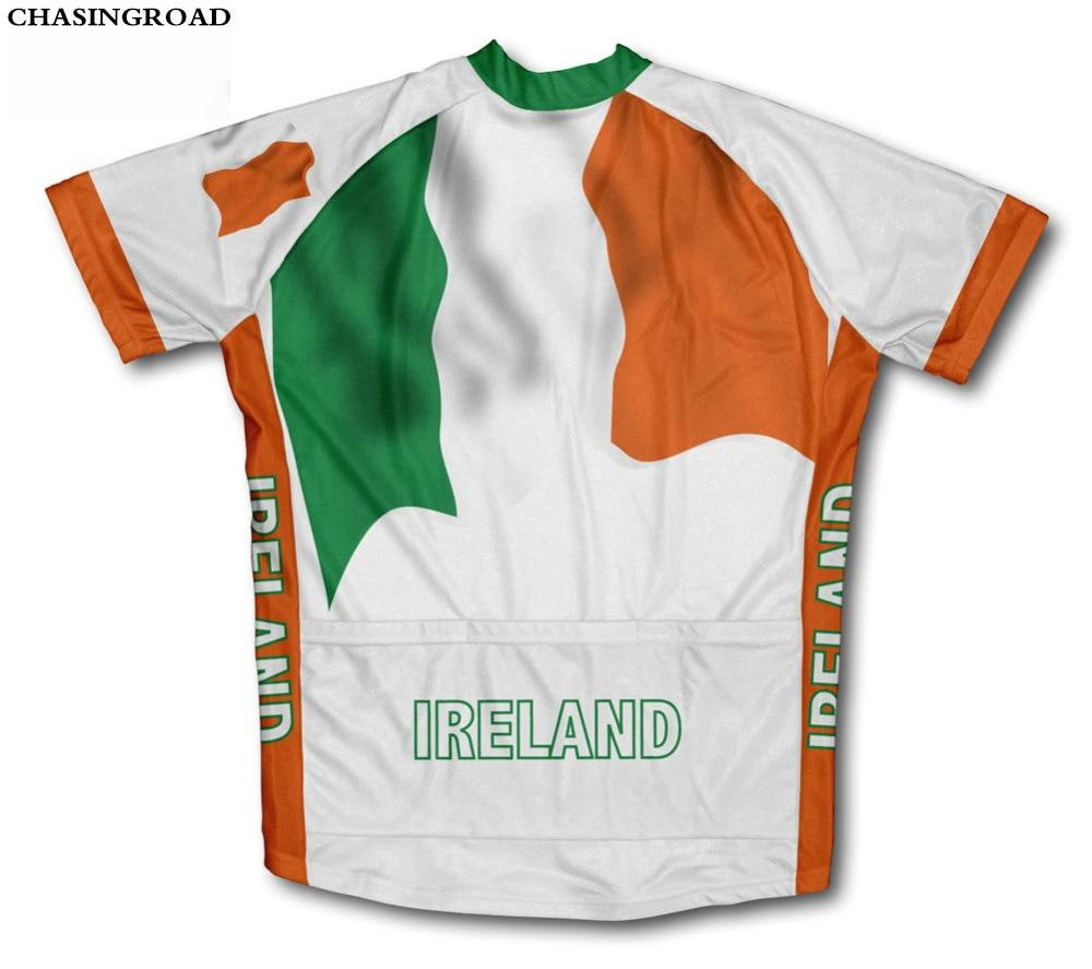 aliexpress com buy haeli brand 2017 ireland flag cycling