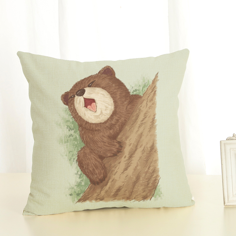 New heat sells the bedroom pillowcase of various animal series office