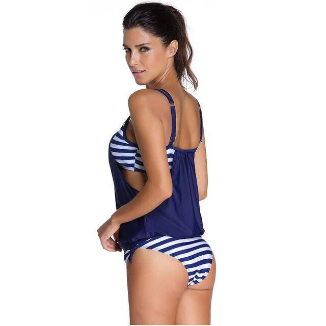 089b6713ce88 € 9.05 34% de DESCUENTO Nueva llegada 2019 caliente mujer Sexy deporte  Bikini Monokini traje de baño trajes de baño de playa sin respaldo ...