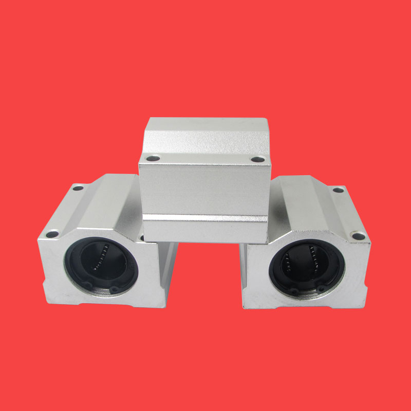 1pc SCS25UU SC25UU 25mm Linear Ball Bearing Block CNC Router for CNC 3D printer shafts Rod 1pcs linear motion ball bearings slide block bushing for scs8uu 8mm linear ball bearing block 3d printer part for cnc router