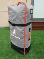 SURFREN2019 year Upgrade 90L Inflatable stand paddle board iSUP Surfingboard Shoulder Bag zip backpack ,carrybag, backbag