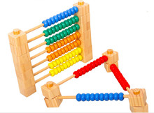 New Wooden Baby Toys Assembly Calculation FrameBaby Educational Toys Baby Gifts