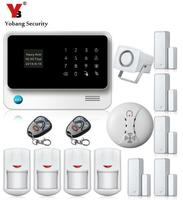 Free Shipping DHL WIFI Gsm Alarm Systems Security Wifi GPRS Alarm System Two Way Wifi Gsm