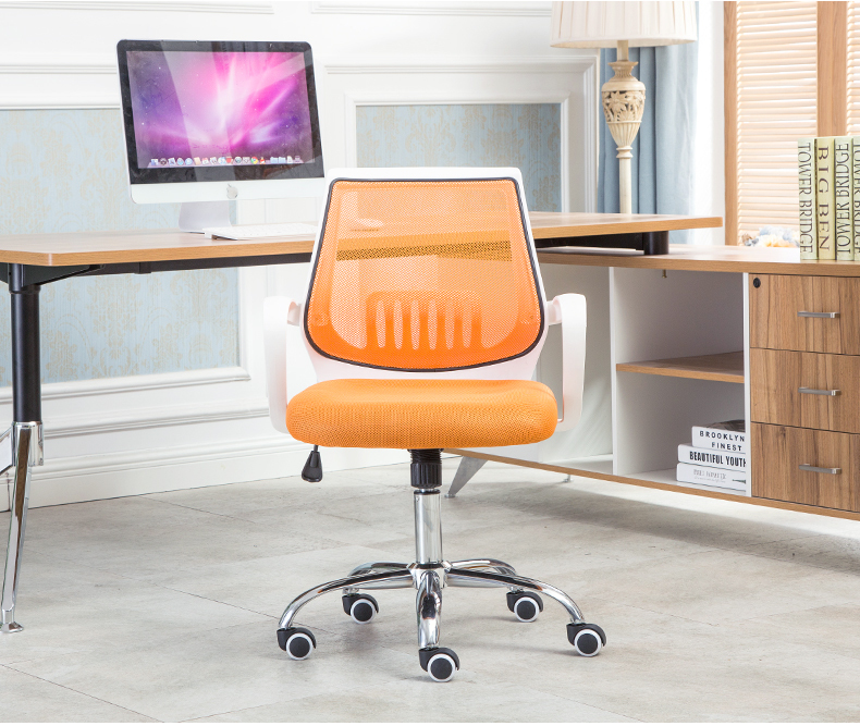 Living room rotating chair office orange lift stool home reading room oange chair free shipping retail and wholesale цена 2017