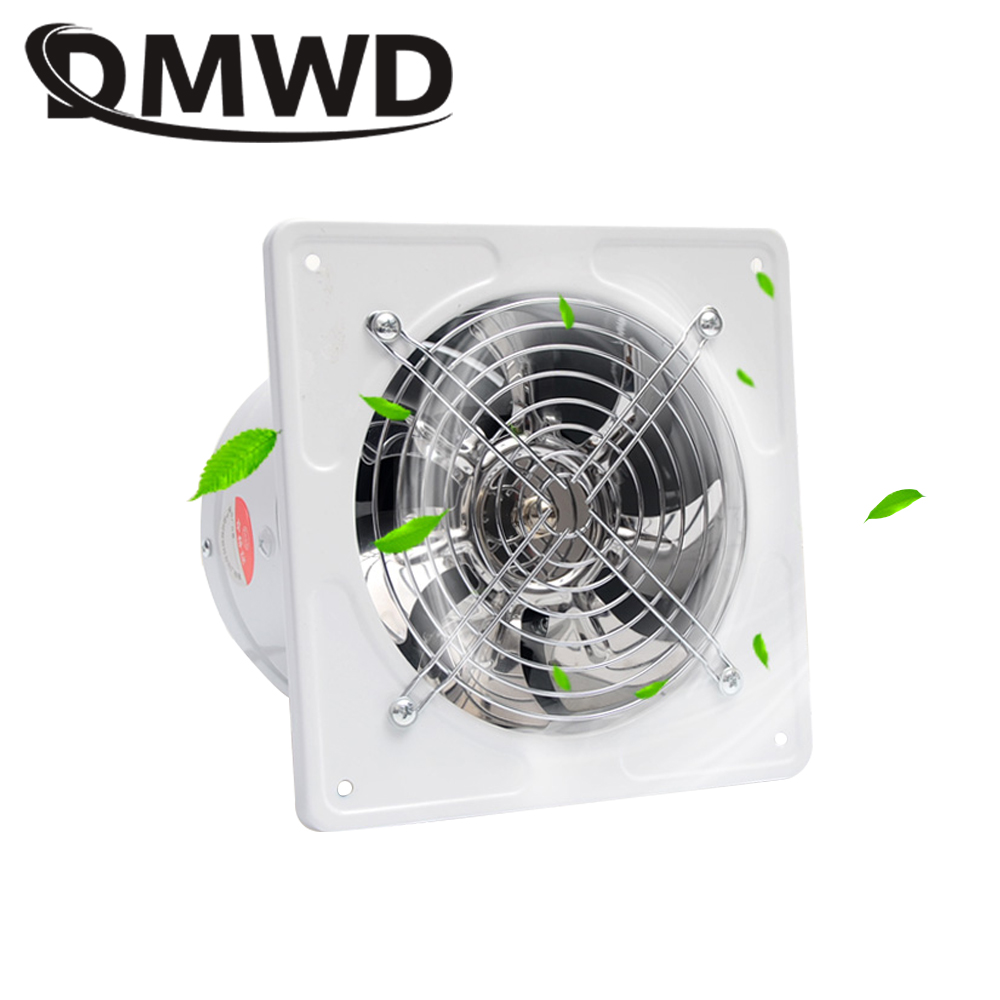 DMWD 8 inch kitchen toilet exhaust fan 8'' Window Exhaust Fan Bathroom Ceiling Wall Mount Blower Toilets Ventilation Fans 200mm все цены