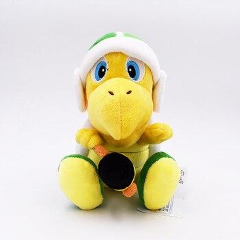 2017 Frete Grátis 18 cm Super Mario Bros Koopa Troopa de Pelúcia Com Martelo de Brinquedo de Pelúcia Brinquedos de Pelúcia Boneca de Presente Para crianças