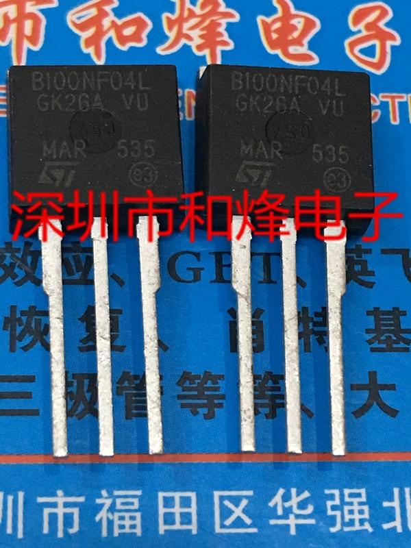 5 pçs/lote B100NF04L STB100NF04L TO-262 – Tomada Digital Imports