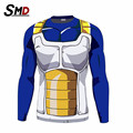 Men's Fashion Dragon Ball T Shirt for men 3d Vegeta Goku Super Saiyan Design Top  t-shirt Dragon ball z Costume Funny tshirt