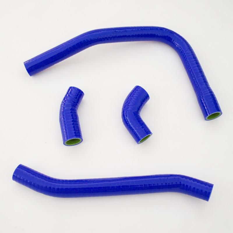For KAWASAKI ZXR 400 L 1990-2003 Radiator Silicone Hose Coolant Pipe Kit Blue