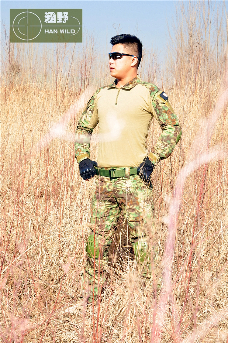 Military Army Combat Uniform Hunting shirt pants with knee pads Military Army Suit with elbow knee pads газонокосилка бензиновая oleo mac g 53 tk allroad exa 4